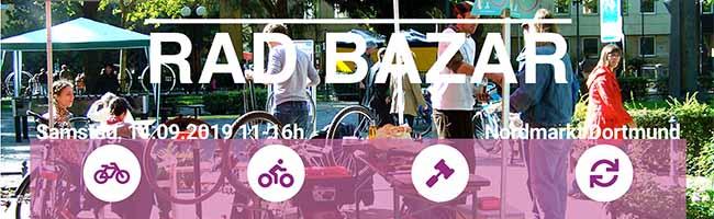 """Fahrradflohmarkt in der Nordstadt: Am Samstag findet der erste """"Rad-Bazar"""" auf dem Nordmarkt in Dortmund statt"""