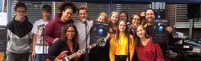 I have a dream: Benefizkonzert für junge Geflüchtete in der Gesamtschule Dortmund-Brünninghausen