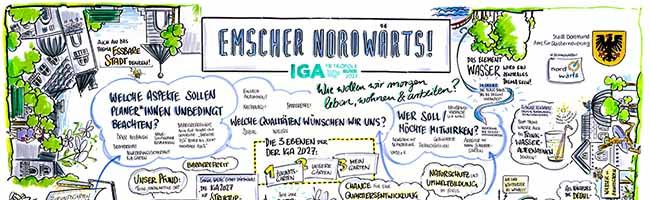 """IGA 2027 in Dortmund: BürgerInnen können ihre Ideen für den Zukunftsgarten """"Emscher nordwärts"""" einbringen"""
