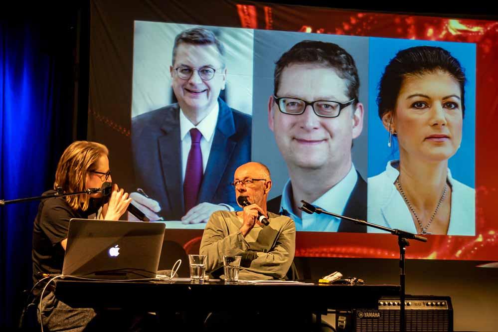 Lucky Fred Die Podcast Gala Mit Lukas Heinser Und Friedrich Kuppersbusch Im Fletch Bizzel Dortmund Nordstadtblogger