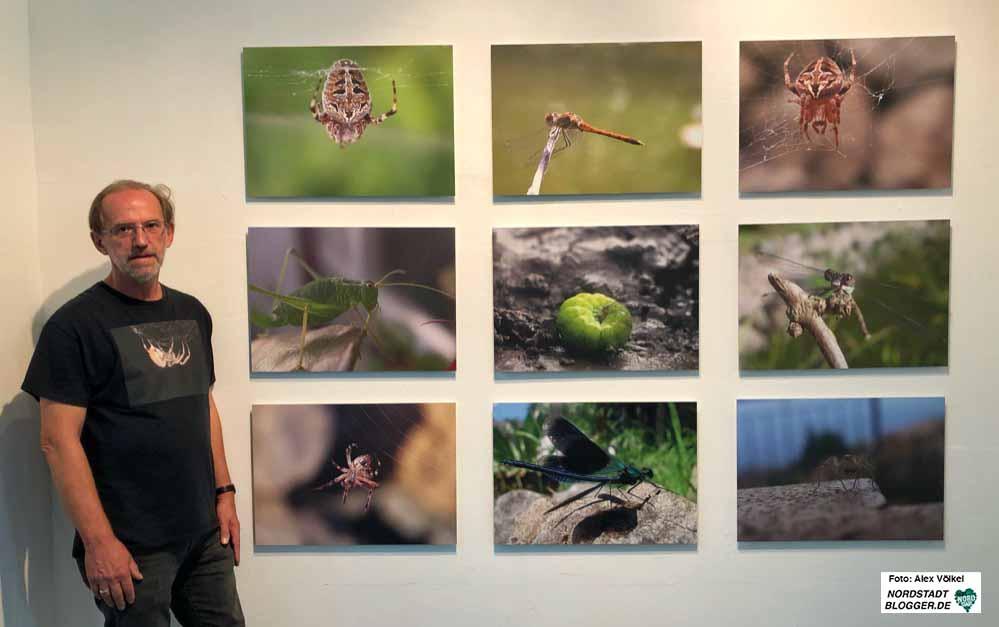 """Der Dortmunder Künstler Michael Jasper stellt seine Arbeiten in der Reihe """"Depot stellt vor Vol. 3"""" vor. Fotos: Alex Völkel"""