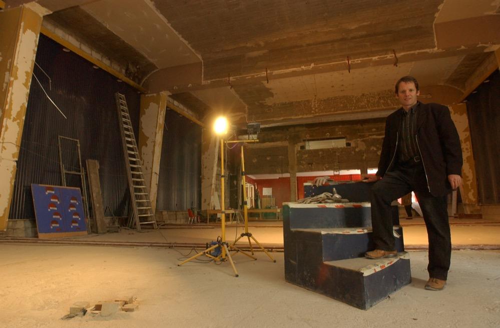 Vor 15 Jahren war das neue Domizil des domicil noch eine Baustelle. Archivbild: Alex Völkel