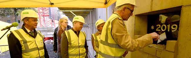Grundsteinlegung im Klinikum Dortmund Nord: OP-Trakt für 25 Millionen Euro soll perfekte Arbeitsbedingungen schaffen