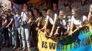 Klimastreik in Dortmund. Foto: Claus Stille