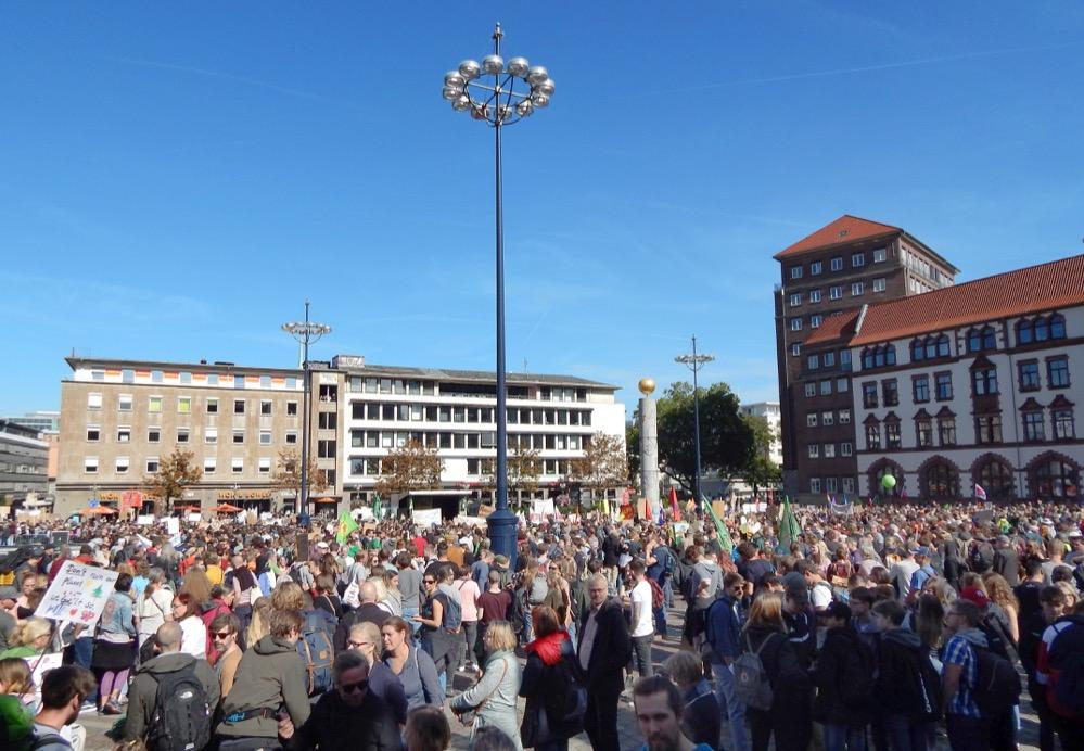Klimastreik in Dortmund. Foto: Marian Thöne