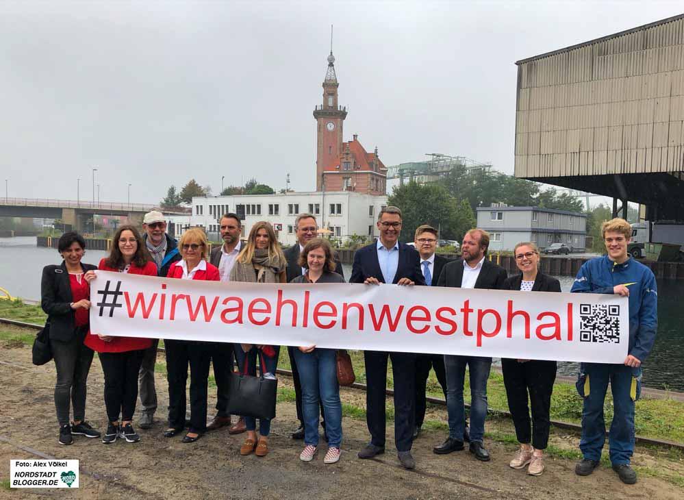 Dortmunds Wirtschaftsförderer Thomas Westphal hat schon zahlreiche UnterstützerInnen für seine OB-Kandidatur um sich geschart.