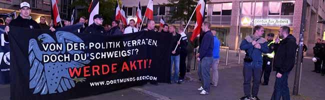 """Wegen der """"Nazi-Kiez-Demütigungen"""" in Dorstfeld reagiert """"Die Rechte"""" mit """"Montagsdemos"""" durch die Nordstadt"""