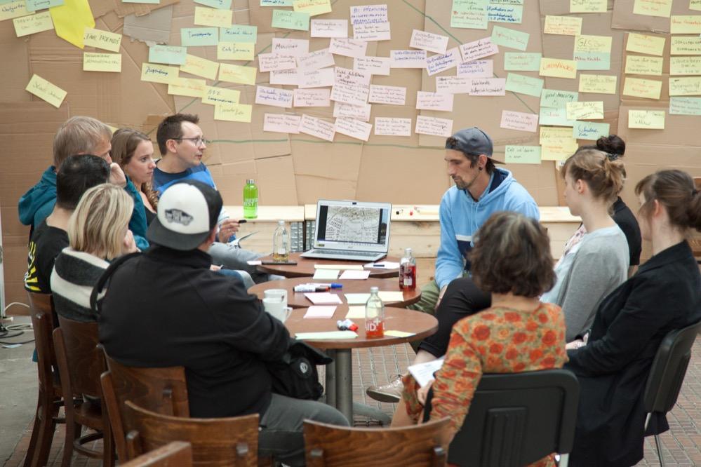 Die unterschiedlichen Facetten der Nachhaltigkeit wurde in Workshops diskutiert. Foto: Peter Lutz