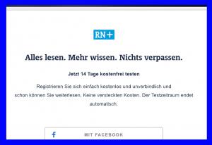 Werden die Ruhrnachrichten - nicht zuletzt wegen der Bezahlschranken - noch ihrem Auftrag gerecht? Die Stadt bezweifelt dies.