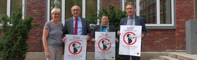 """""""Schwanger! Alkohol? Dein Kind trinkt mit!"""" – Sparkasse Dortmund spendet 20.000 € für Gesundheitskampagne"""