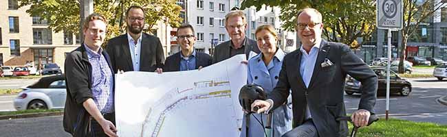Neuer Radweg am Wallring geplant: Förderprojekt soll sicherere Rad- und Fußwege in Dortmund schaffen