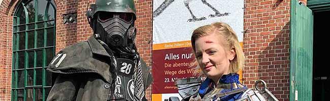 Ein Wochenende für CosplayerInnen in Dortmund: Virtuelle Avatare und Kostüme auf Zeche Zollern zum Lebenerwecken