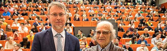 Zeuge des Grauens: Nazi-Überlebender berichtet Studierenden der TU Dortmund über Judenverfolgung und Holocaust