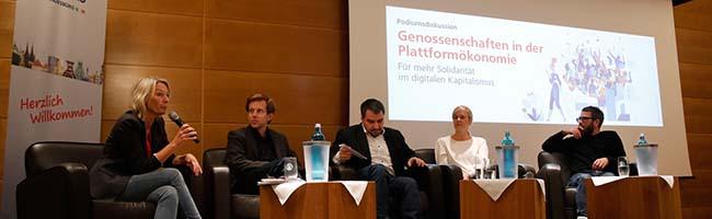 Zum Digital-Gipfel in Dortmund: Diskussion über Solidarität und alternative Plattformökonomie im digitalen Kapitalismus