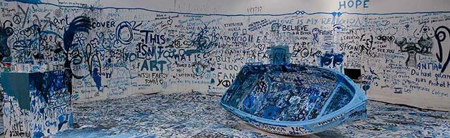 Kunstprojekt am Dortmunder U: Yoko Ono unterstützt die internationale Journalisten-Ausbildung in Dortmund