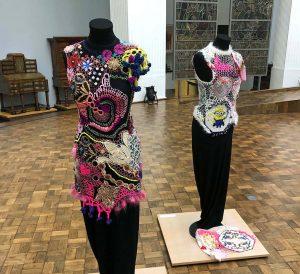 Seltene Textilkunst wird im Museum für Kunst und Kulturgeschichte bis 10. November vorgestellt. Fotos: Joachim vom Brocke