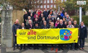 Der Arbeitskreis der Abrahamsreligionen in Dortmund setzte am Freitag ein Zeichen gegen Antisemitismus und Rassismus.