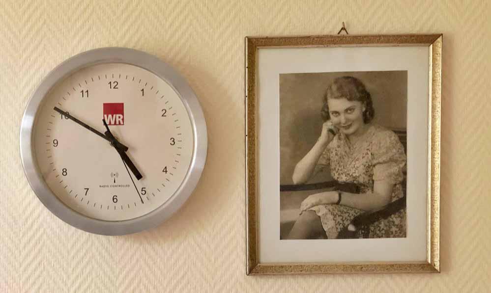 Das Porträt der Frau oder der Geliebten auf der Kommode: Bewohner*innen der SWS Eving sol- len ohne Scham im Haus leben können.