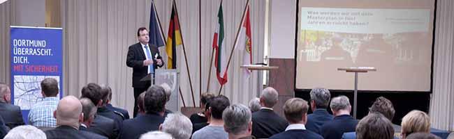 Sicherheit als Gemeinschaftsaufgabe für viele Akteure: Auftaktveranstaltung zum Masterplan im Rathaus Dortmund