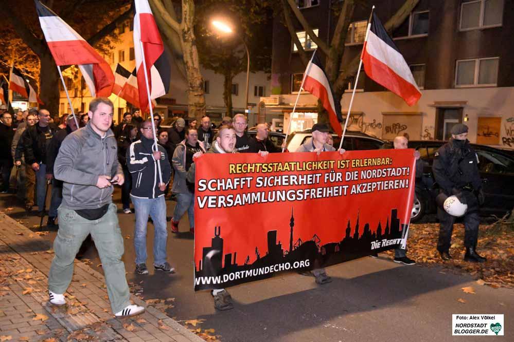 Montag für Montag marschieren die Neonazis derzeit durch die Nordstadt.