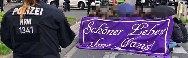 """Heute wieder Neonazi-Aufmarsch und Gegenprotest in der Nordstadt – Attacke und Protest gegen """"Thor Steinar""""-Laden"""