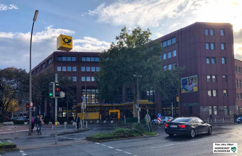 Die Wirtschaftsförderung zieht in die Hauptpost in der Nordstadt. Foto: Alex Völkel