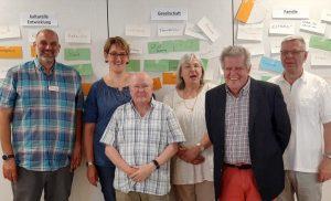 Das Team der AWO und die Ehrenamtlichen haben das Schulungsprogramm entwickelt.