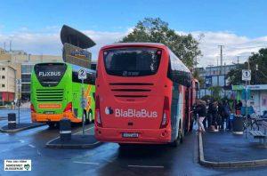 Die Fernbusse und der ZOB sind eine Belastung für die Nordstadt. Foto: Alex Völkel