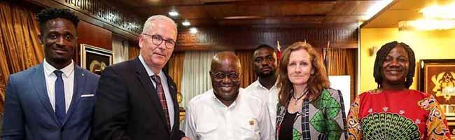 Ein besonderes Ehrenamt: Klaus Wegener ist neuer Honorarkonsul von Ghana – Konsulat in der Nordstadt