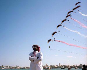 """Felix Kleemann zeigt seine Ausstellung """"Improving Reality"""" mit Arbeiten aus Katar."""