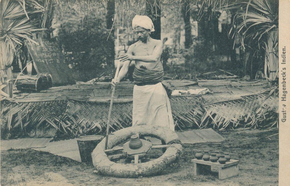 Hagenbecks Indien-Schau: Handwerker (Sammlung Klaus Winter)