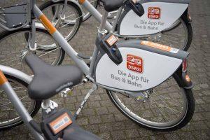 Die neuen Leih-Räder von metropolradruhr werden ab dem Frühjahr auch via DSW21-App zu buchen sein. Fotos: Claudia Posern/ DSW21