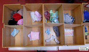 Vor allem an gut erhaltener Kinderkleidung gibt es einen großen Mangel - Spenden sind willkommen.