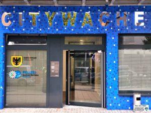 Die Citywache im Brüderweg 6-8 ist eine gemeinsame Einrichtung von Polizei und Ordnungsamt.