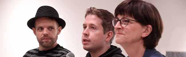 50. Politische Woche: Großes Interesse an der Zukunft der SPD – Saskia Esken und Kevin Kühnert zu Gast in Huckarde