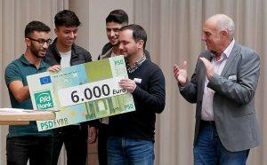 """6000 Euro gab es beispielsweise für das Projekt """"Verfassungsschüler"""" der Stadtteilschule. Foto: privat"""