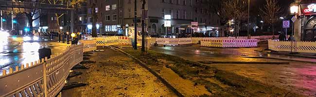 Zwei weitere Verdachtspunkte am Wall haben sich erhärtet – Einschränkungen für den Verkehr bleiben bis Januar