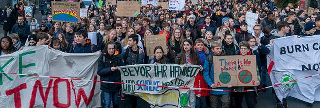 Vierter Globaler Klimastreik: FFF distanziert sich in Dortmund klar von jeglicher Parteipolitik und fordert mehr Solidarität