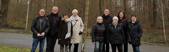 Baum des Jahres 2019 in der Nordstadt gepflanzt – Flatter-Ulme ergänzt jetzt den Baumlehrpfad im Fredenbaumpark