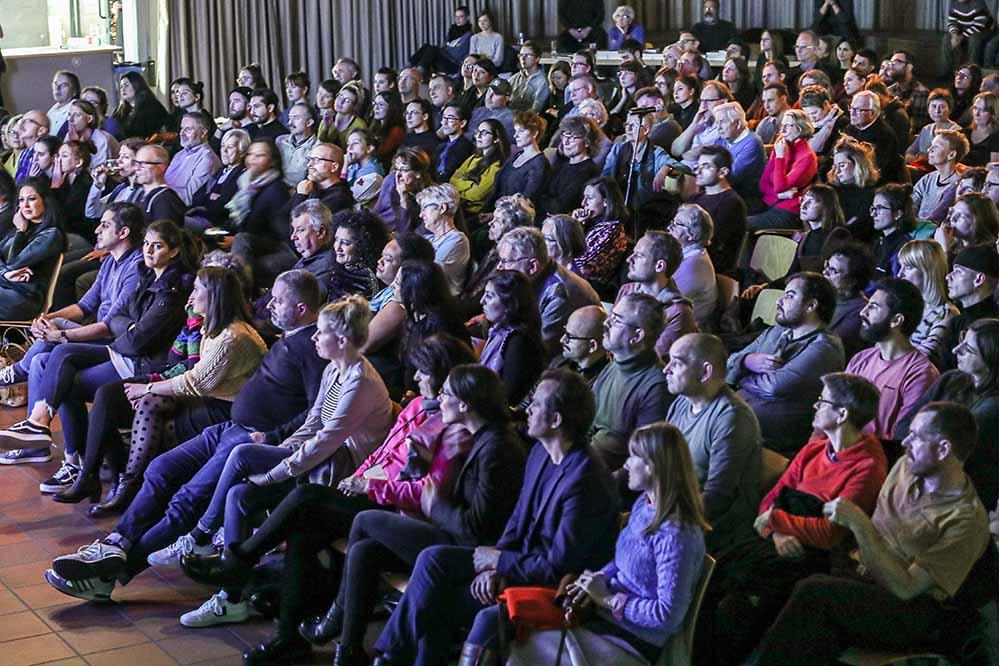 """Erneut sehr gut besucht war der letzte """"Talk im DKH"""" des Jahres."""