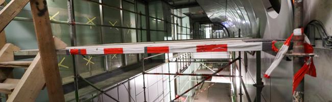Nach bald fünf Jahren immer noch nicht fertig? Tiefbauamt informierte über den Stand der Bauarbeiten am Hauptbahnhof