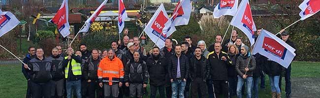 Fehlende Tarifbindung – ver.di ruft vor Weihnachten erneut zur Arbeitsniederlegung in Dortmunder Tedi-Lager auf
