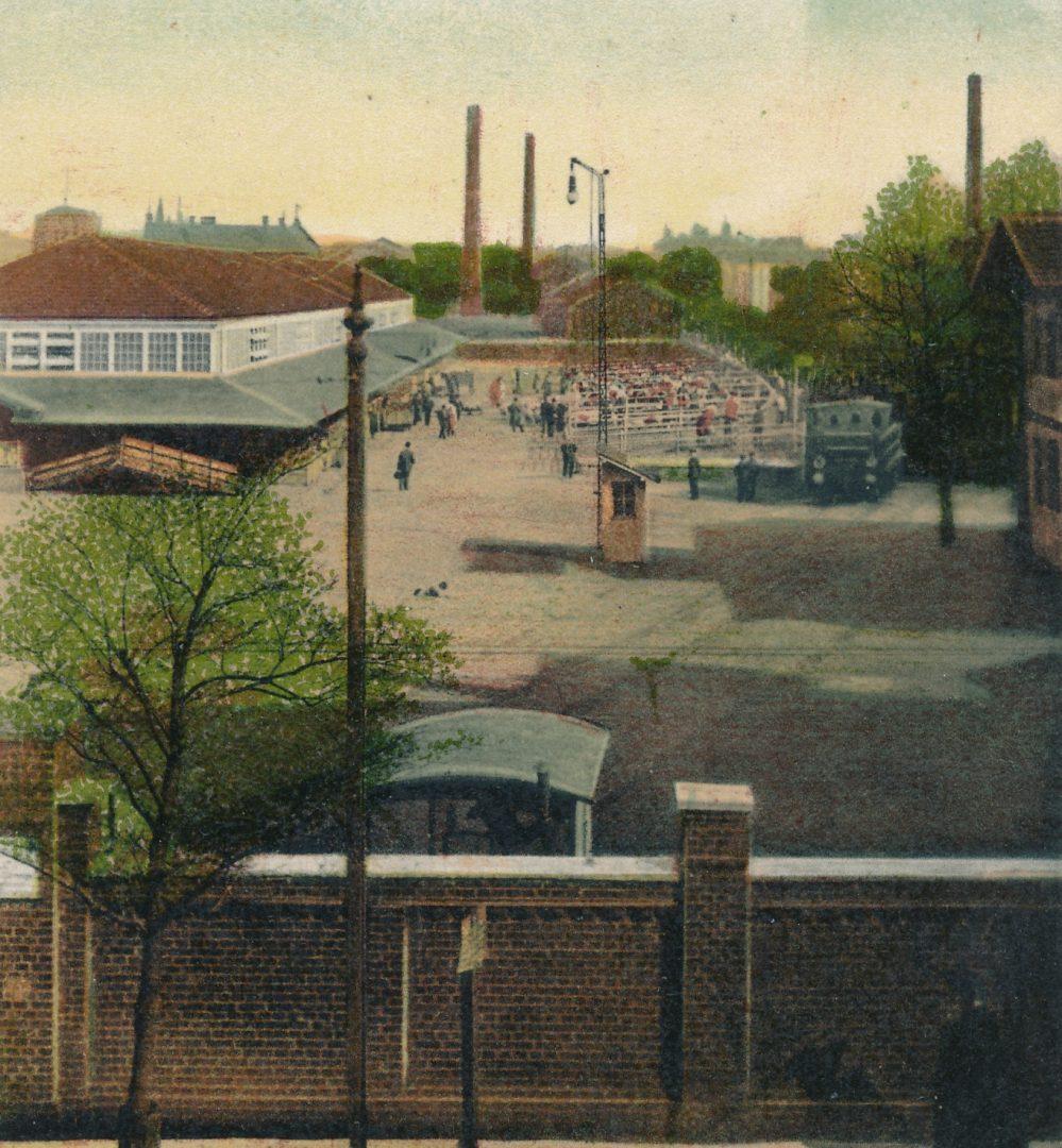 Schlachthof, um 1915 (Sammlung Klaus Winter)