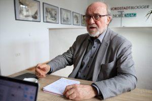 Hartmut Anders-Hoepgen im Redaktionsgespräch mit Nordstadtblogger. Foto: Karsten Wickern