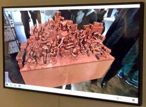 """Das virtuelle Werk von Benno Elkan """"Mahnmal für diew wehrlosen Opfer des Bombenkrieges"""". Fotos: Joachim vom Brocke"""