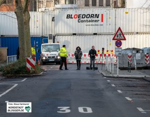 Evakuierung Klinikviertel