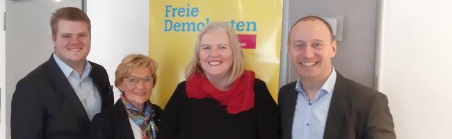 FDP-Dortmund stellt ihr Spitzenteam für Kommunalwahl im Herbst vor – und geht mit eigenem OB-Kandidaten ins Rennen