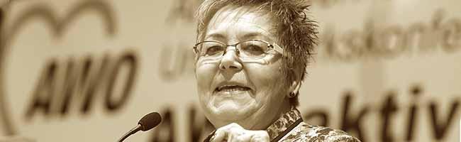 Abschied von einer Kämpferin für soziale Gerechtigkeit und Frauenrechte: Die AWO-Vorsitzende Gerda Kieninger ist tot