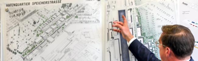 Städtebauliche Rahmenplanung für Nördliche Speicherstraße: Bekanntes Kopenhagener Büro COBE gewinnt Wettbewerb