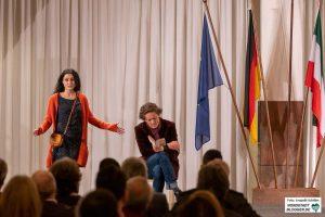 """Das Stück """"Verräter"""" des Westfälischen Landestheaters erzählt Teile vom Leben Can Dündars nach."""